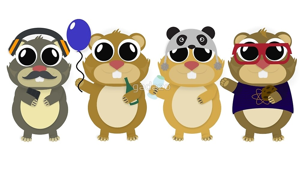 Hamsters by gadazo