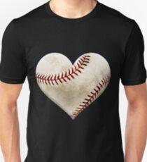 Baseball Heart Love Baseball Shirt  Unisex T-Shirt