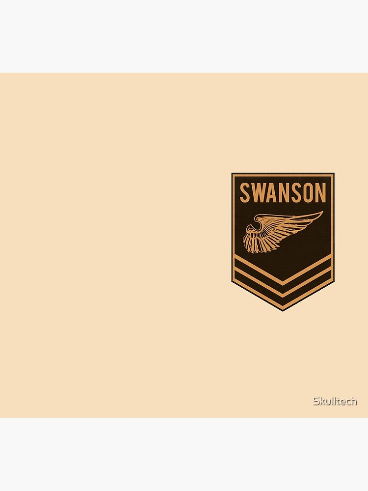 Parks and Recreation - Swanson Ranger Club by Skulltech