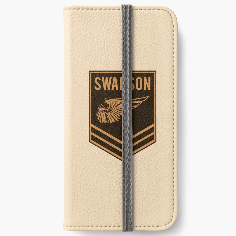 Parks and Recreation - Swanson Ranger Club iPhone Wallet