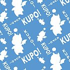 Moogle print, Kupo by gysahlgreens