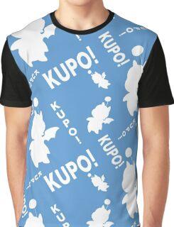 Moogle print, Kupo Graphic T-Shirt