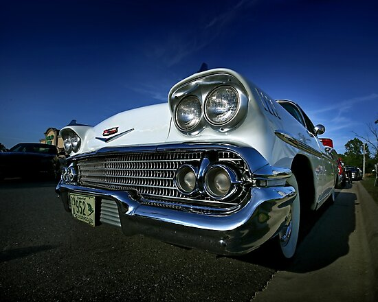 1958 Chevy Impala by mal-photography