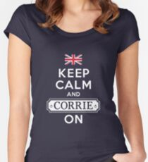 CORRIE ON, MATE Women's Fitted Scoop T-Shirt