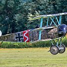 Fokker Dr.1 replica 556/17 G-CFHY by Colin Smedley