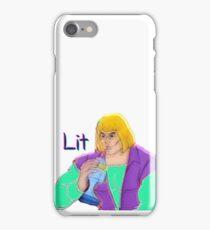 Lit Heman iPhone Case/Skin