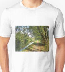 Autumn Towpath Unisex T-Shirt