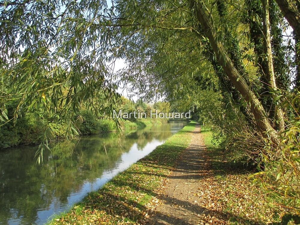 Autumn Towpath by Martin Howard