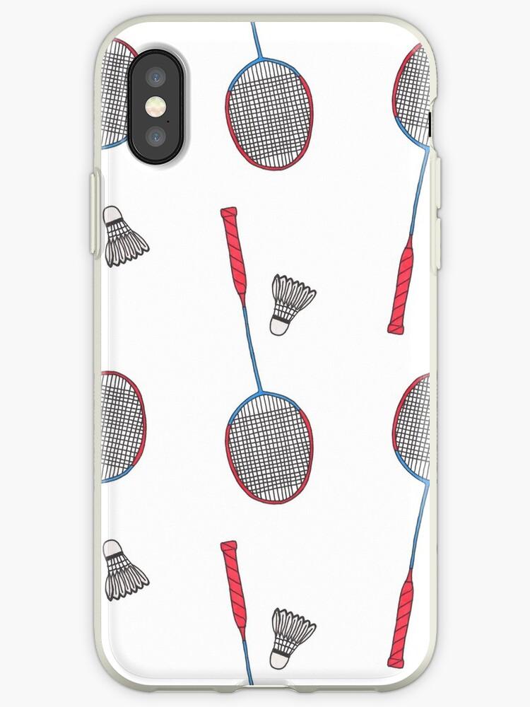 Badminton Iphone Case By Runlenarun