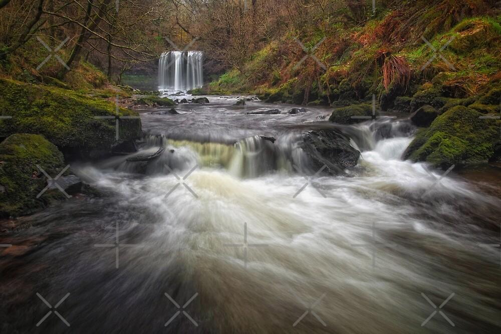Sgwd yr Eira waterfalls by Leighton Collins