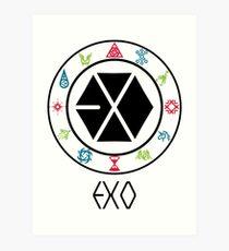 EXO Member Art Print