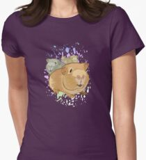 Guinea Pigs Women's Fitted T-Shirt