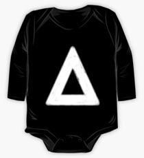 bastille triangle (white) One Piece - Long Sleeve
