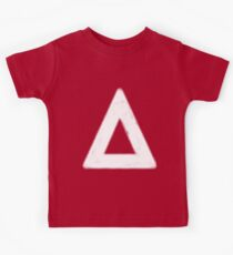 bastille triangle (white) Kids Tee