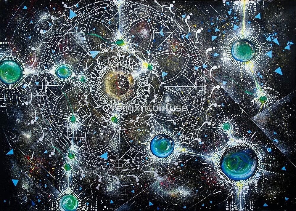 Universo Mandalatico by remixnconfuse
