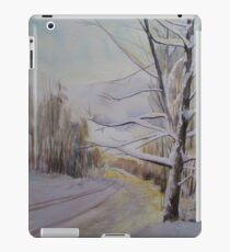 Last Winter Sunset Snow Scene iPad Case/Skin