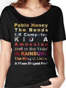 Radiohead albums Women's Relaxed Fit T-Shirt