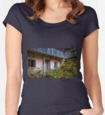 Rural scene Women's Fitted Scoop T-Shirt
