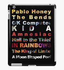 Radiohead albums iPad Case/Skin