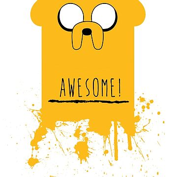AWESOME - Jake The Dog by halfcrazy