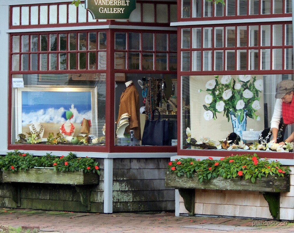 Nantucket Shop by phil decocco