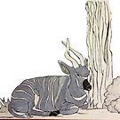B for  Bongo - Alphabetical Animals by maestyle