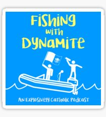 Fishing with Dynamite Classic Logo Sticker