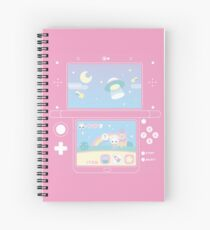 space bun adventure Spiral Notebook