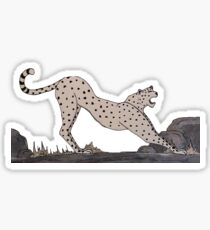 C for Cheetah - Alphabetical Animals Sticker