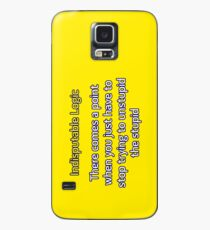 Can't Unstupid Stupid Case/Skin for Samsung Galaxy