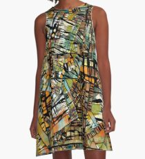 Layers Upon Layers A-Line Dress