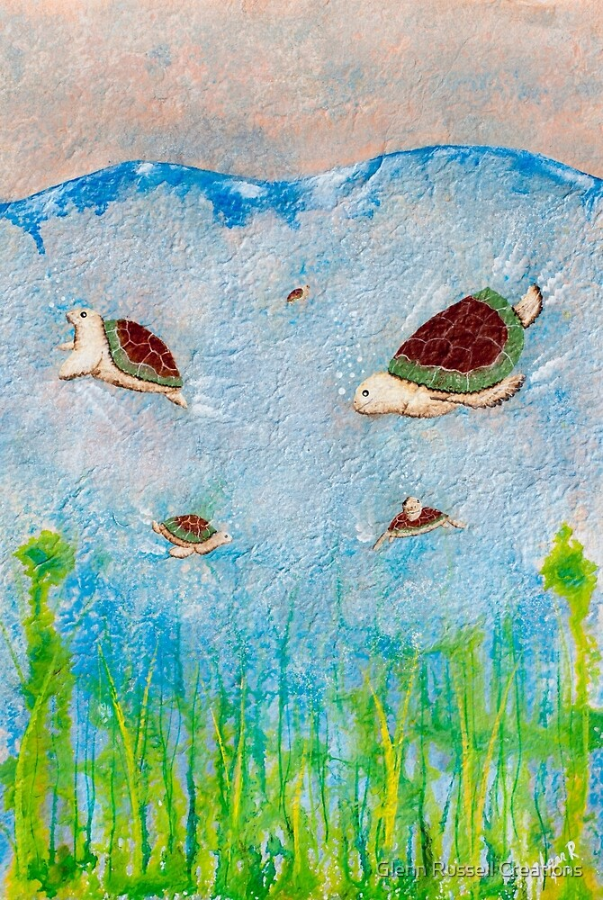 Turtle Time by Glenn Russell Creations