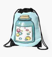 Bottle bubble Drawstring Bag