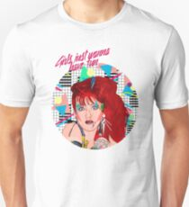 "Cyndi Lauper ""GIRLS JUST WANNA HAVE FUN"" T-Shirt"