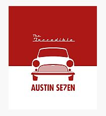 The Incredible Austin Seven! Photographic Print