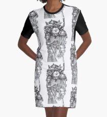 STEAM MAN Graphic T-Shirt Dress