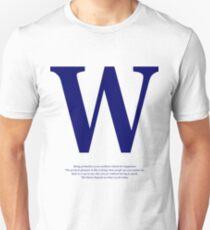 Typography Quotes Text Graphic Sentences Unisex T-Shirt