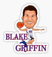 Blake Griffin design Sticker