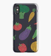 Hypno veggies iPhone Case/Skin
