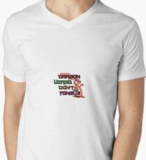 Mushu Mens V-Neck T-Shirt