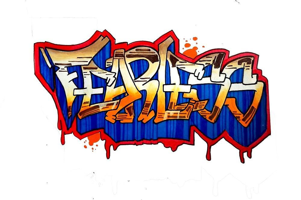 fearless graffiti by Jma8artist