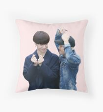 GOT7 Jackson and Yugyeom - Hearts  Throw Pillow