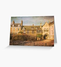 College Green, Gloucester. Greeting Card