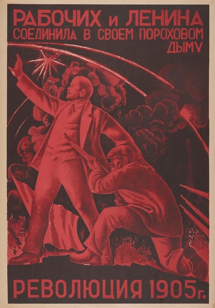 Soviet Propaganda - The Revolution of 1905 by onlypropaganda