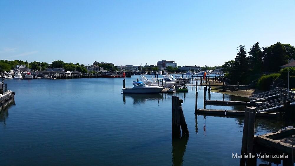 Cape Cod Summer Scene by Marielle Valenzuela