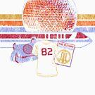 Raumschiff Erde und Monorail Vintage T-Shirt von retrocot