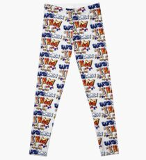 Earthworm Jim (SNES Title Screen) Leggings