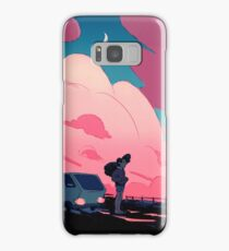 Beach city drift Samsung Galaxy Case/Skin