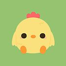Cute rooster by peppermintpopuk
