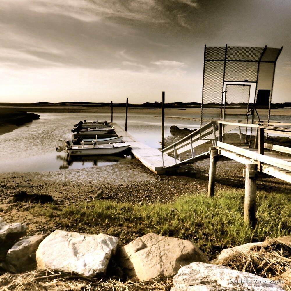 Cape Cod, Yarmouth Scene by Marielle Valenzuela